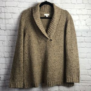 Charter Club.  V-neck wool sweater. 2X